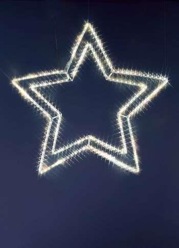 Weihnachtsbeleuchtung Aussen Stern Preise.Led Ropelightstern Für Außen 100 Cm ø 13 1w Weihnachtsbeleuchtung