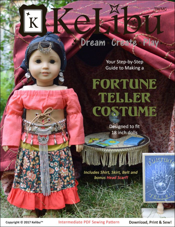 Fortune Teller for AG Cover alt low res   Patterns and Supplies for ...