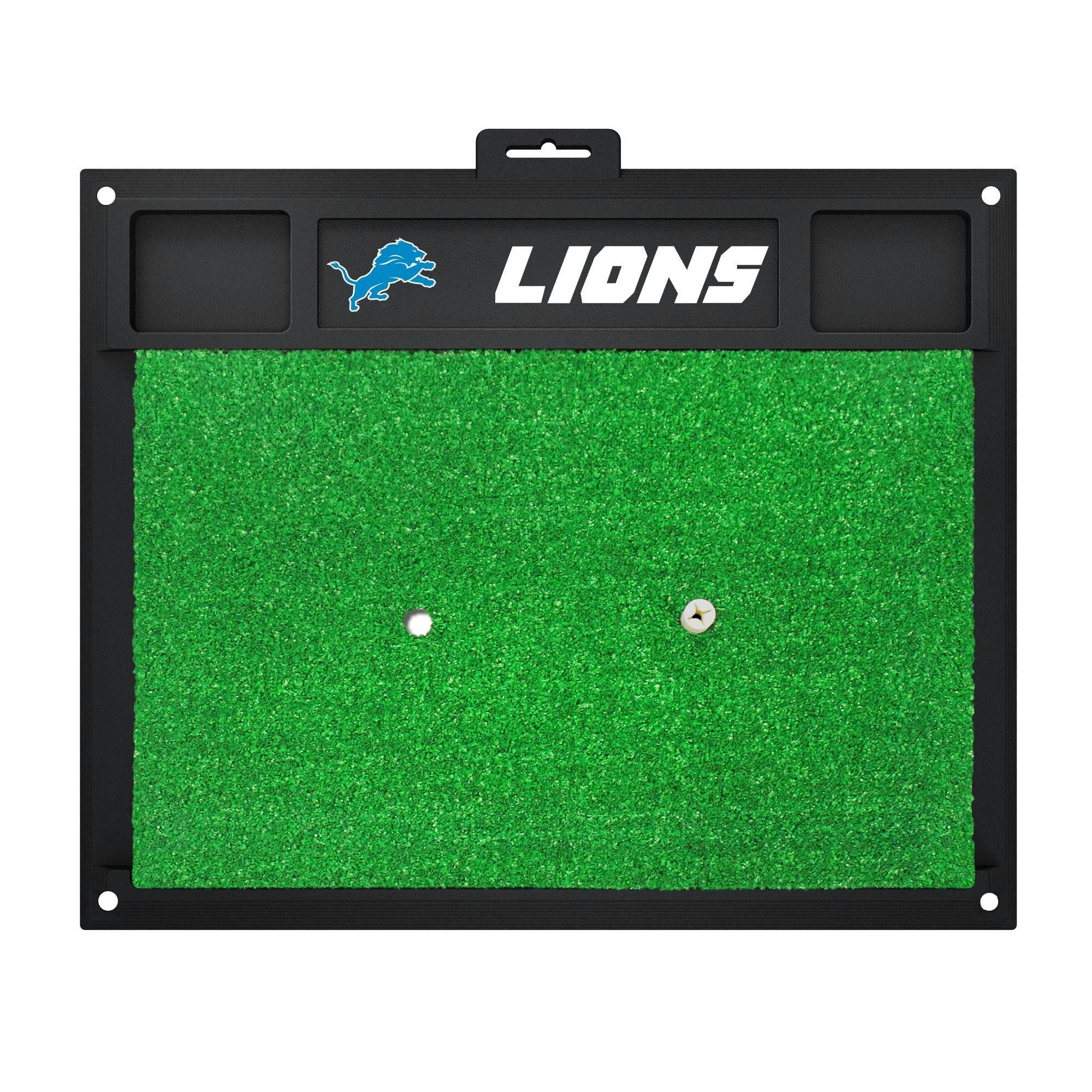 Detroit Lions Golf Hitting Mat 20 X 17 Products