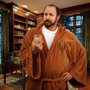 Hmm... Father's Day gift? --> Star Wars Jedi & Sith Bath Robes