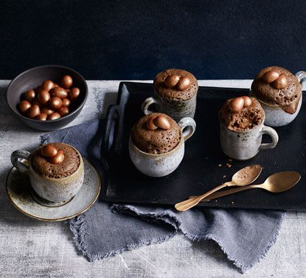 Galaxy Enchanted Eggs chocolate mug cakes | Recipe in 2020 ...