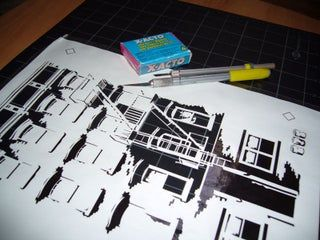 Creating Complex Spraypaint Stencils by Hand : 7 Steps - Instructables