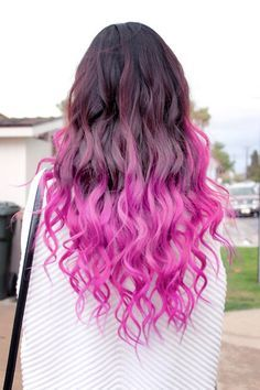 Dark Pink Ombre Hair Tumblr Quotes Hair Hair 24 Pink