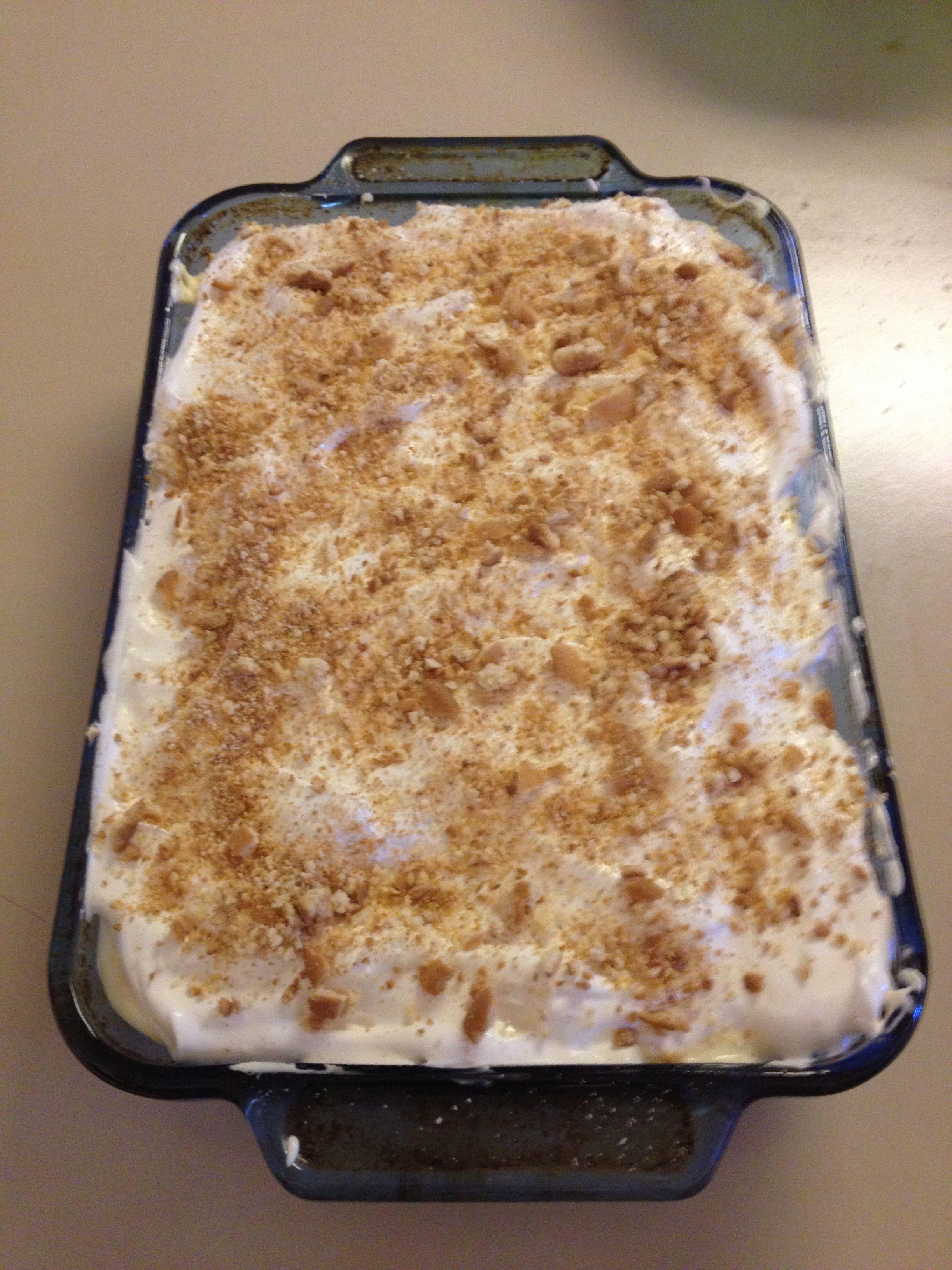Golden Corral Banana Pudding Cake Recipe
