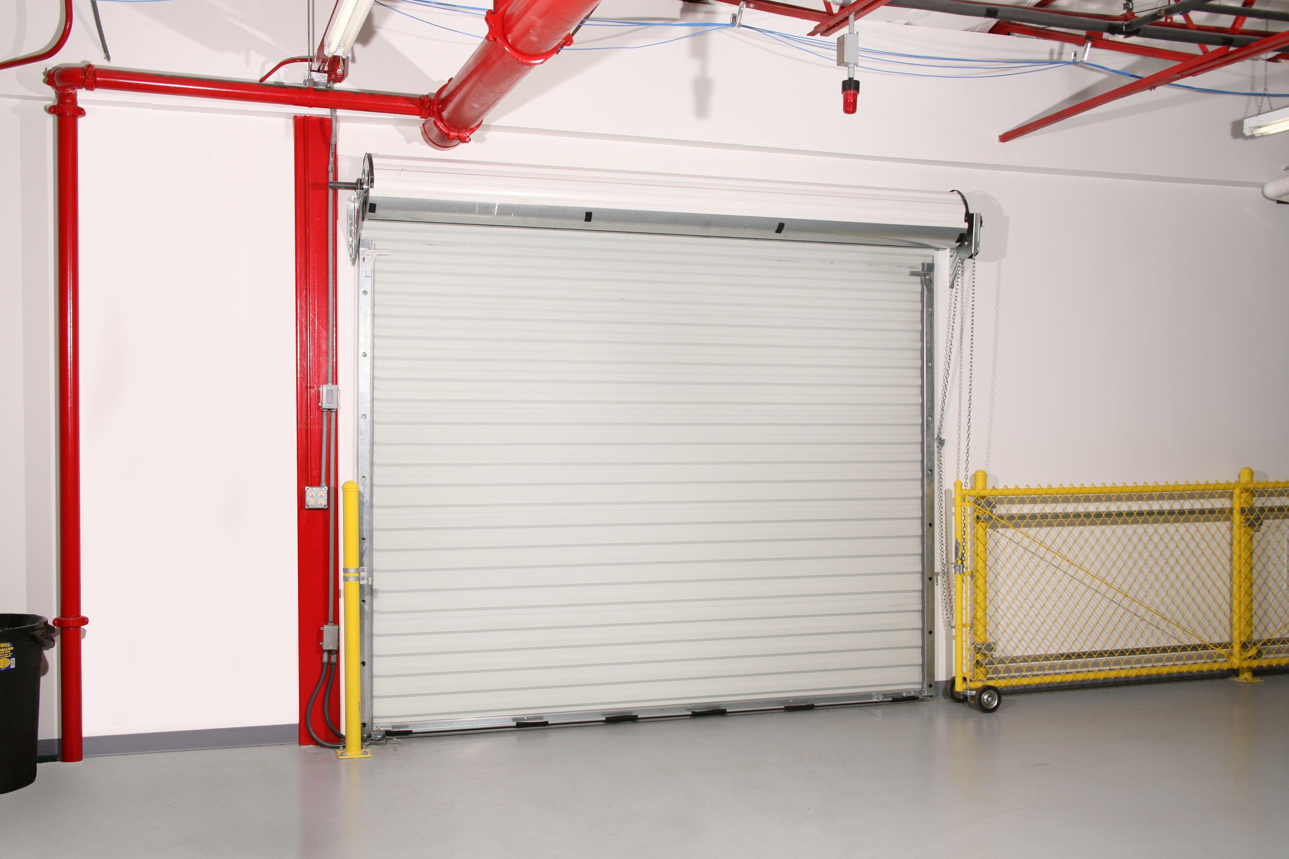 16 By 16 Rolling Sheet Door In 2020 Steel Curtain Steel Sheet Doors