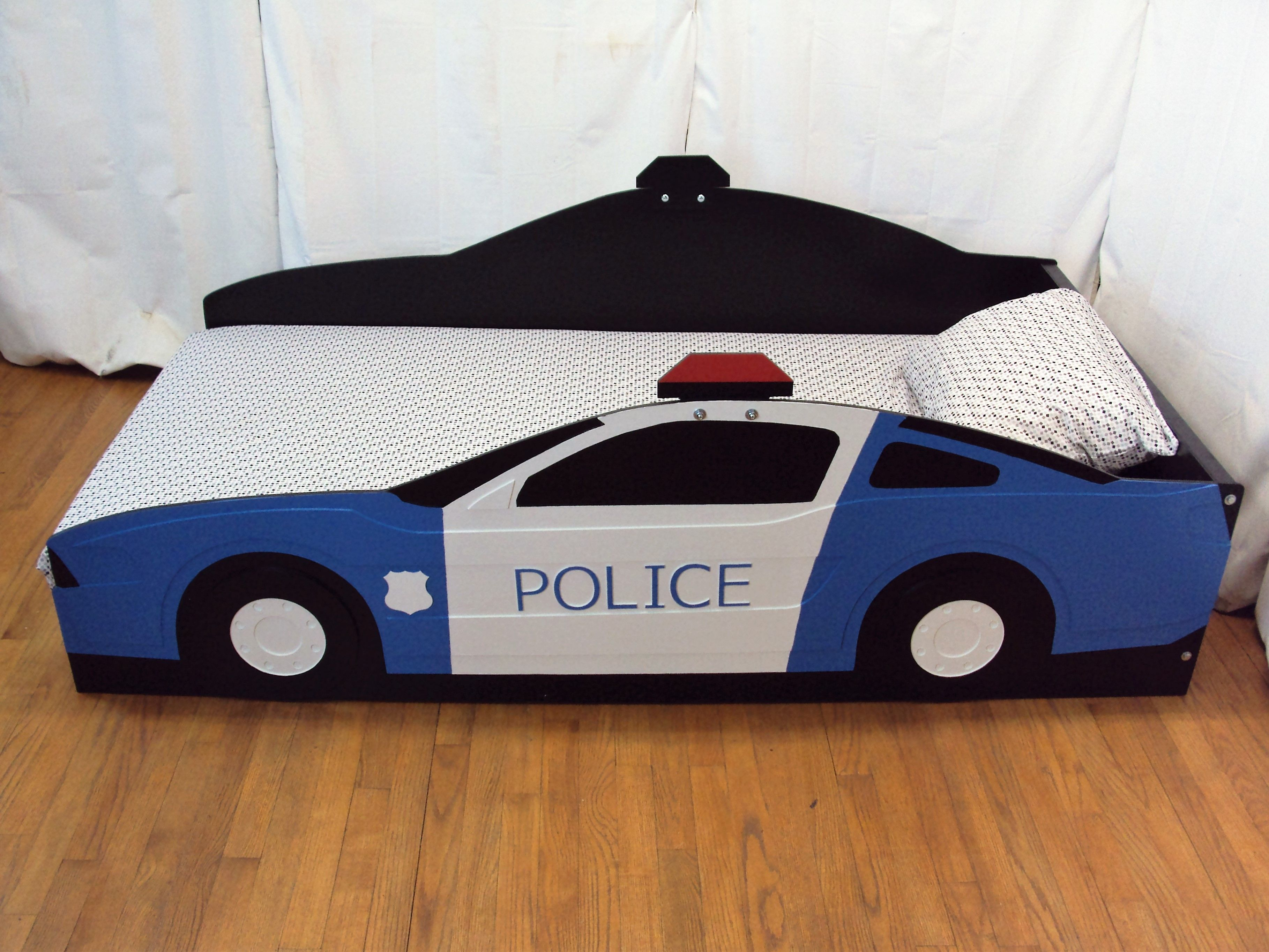 Twin Police Car Bed