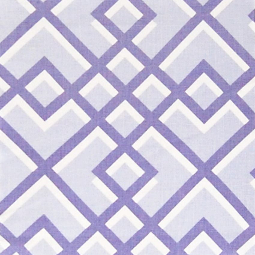 Lagoon Purple Contemporary Linen Upholstery Fabric Linen
