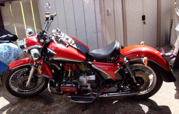Needle's customized GL1000