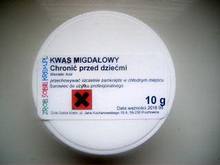Eko Piekno: Tonik z kwasem migdałowym 10%, przygotowania do peelingu kwasowego.