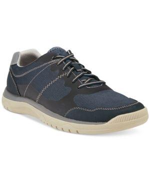 Clarks Men's Cloud Steppers Votta Edge Sneaker - Blue 10.5W