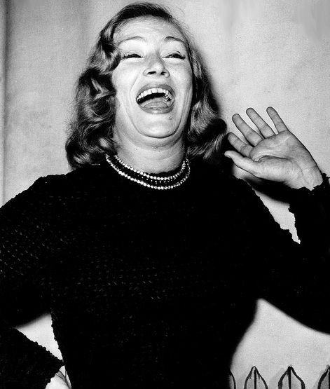 Veronica Lake in the 1960's | Veronica lake, Movie stars, People laughing