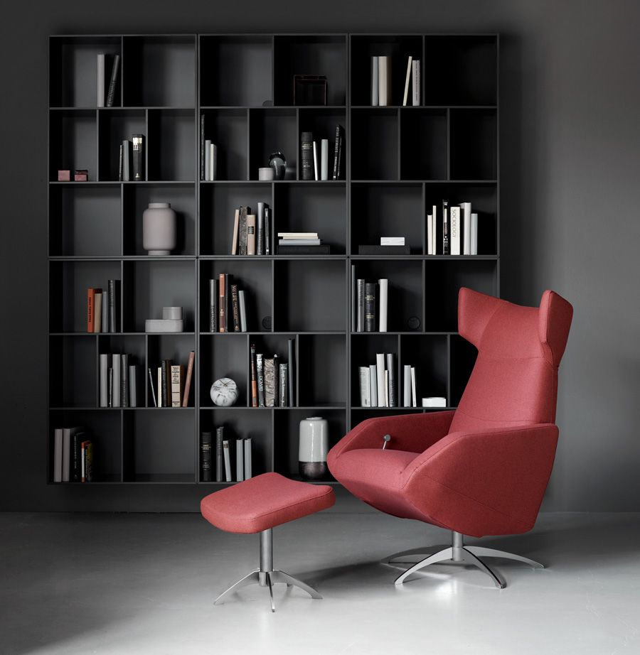 the harvard armchair by boconcept features a masculine design along with exceptional comfort and support perfect for any living room