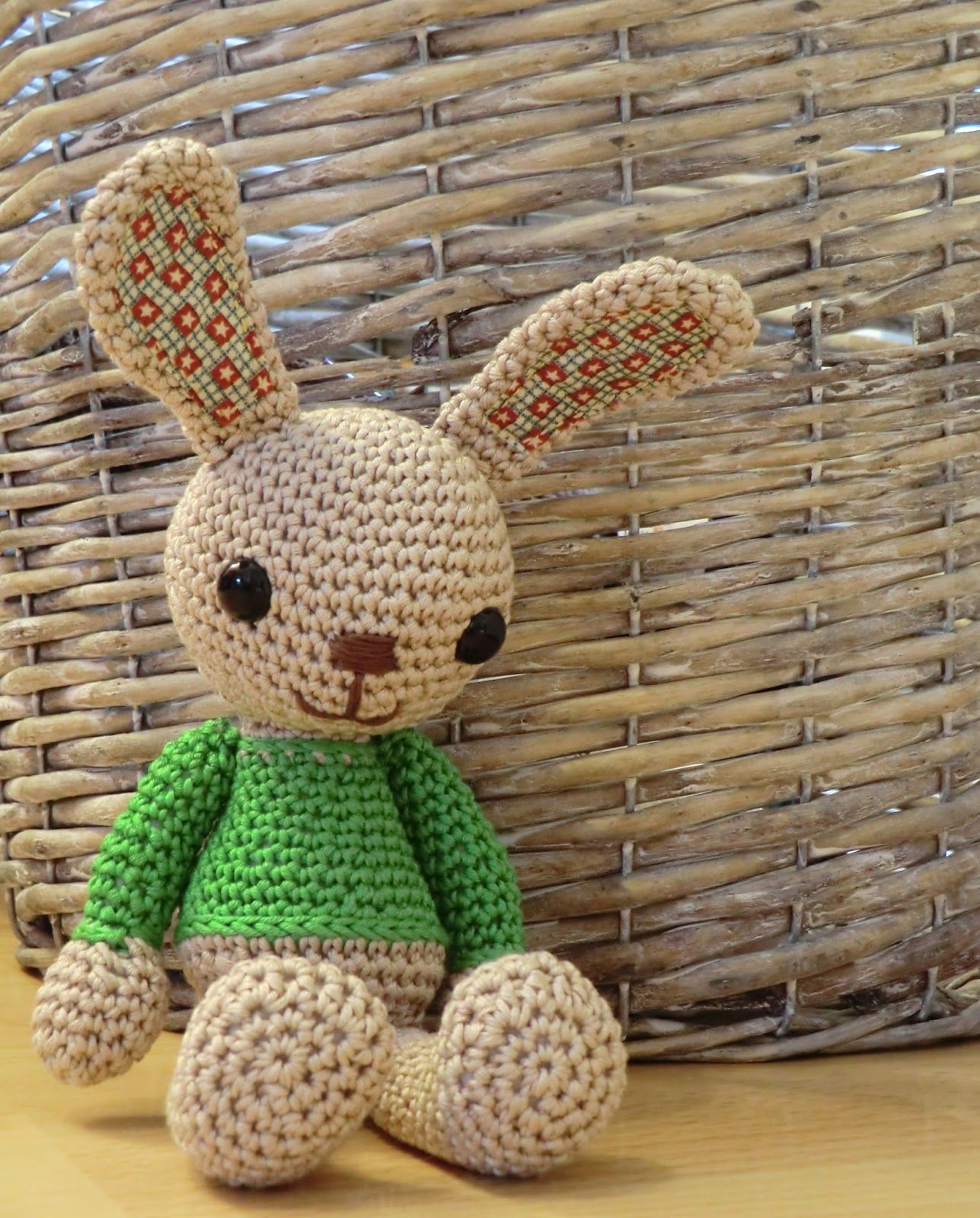 Crochet pattern: Amigurumi Barmy:bunny amigurumi | Funny chrochet ...
