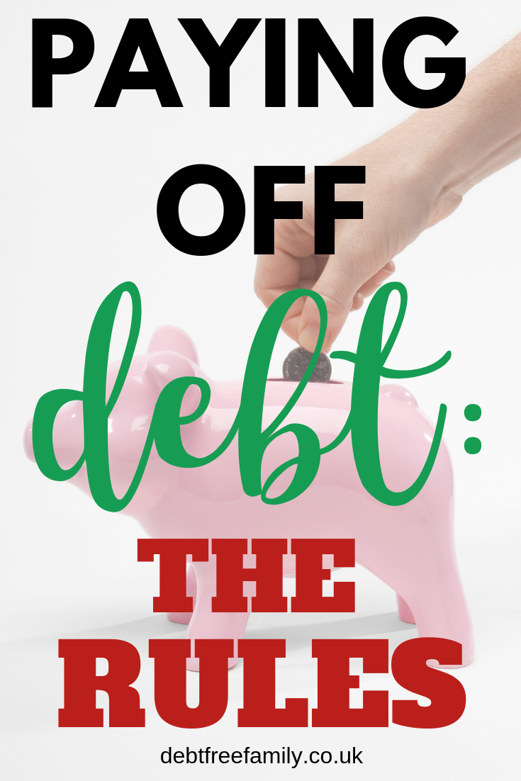 The RULES for paying off debt FAST!