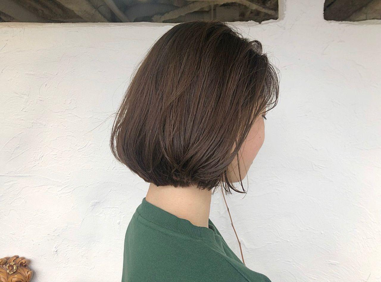ショートボブ ナチュラル ウェット感 ボブ ヘアスタイルや髪型の写真 画像 ボブ ヘアスタイル ボブ ショートボブ