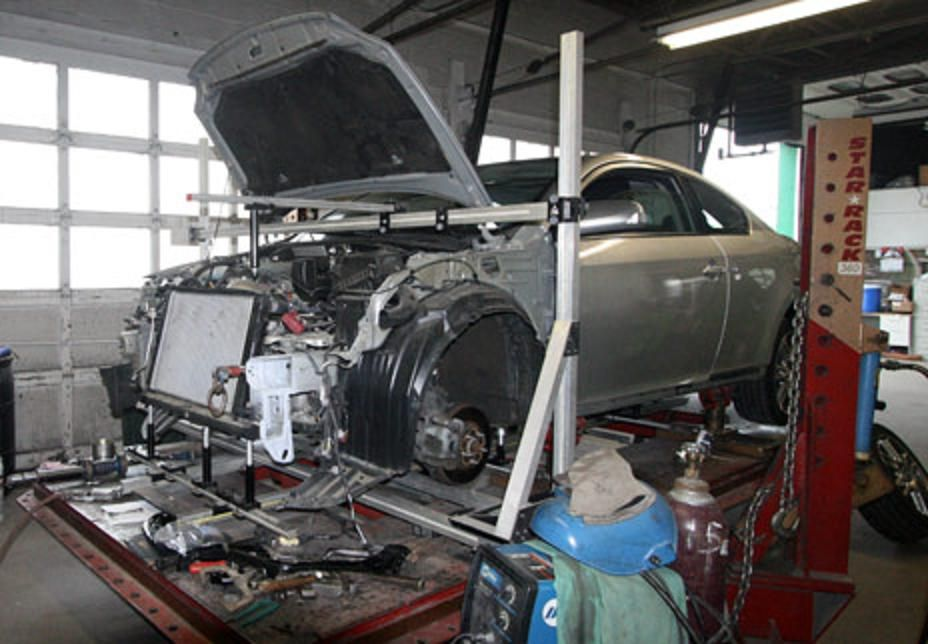 What Types of Parts Are Used by a Body Shop?