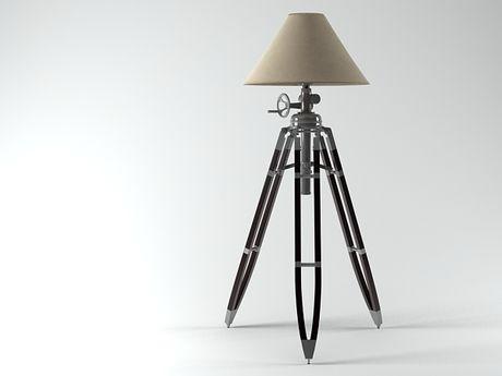 Tripod Floor Lamp Tripod Floor Lamp And Restoration Hardware