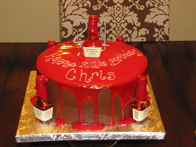 Another Great Cake By Confused Confections 21st Birthday Cakes