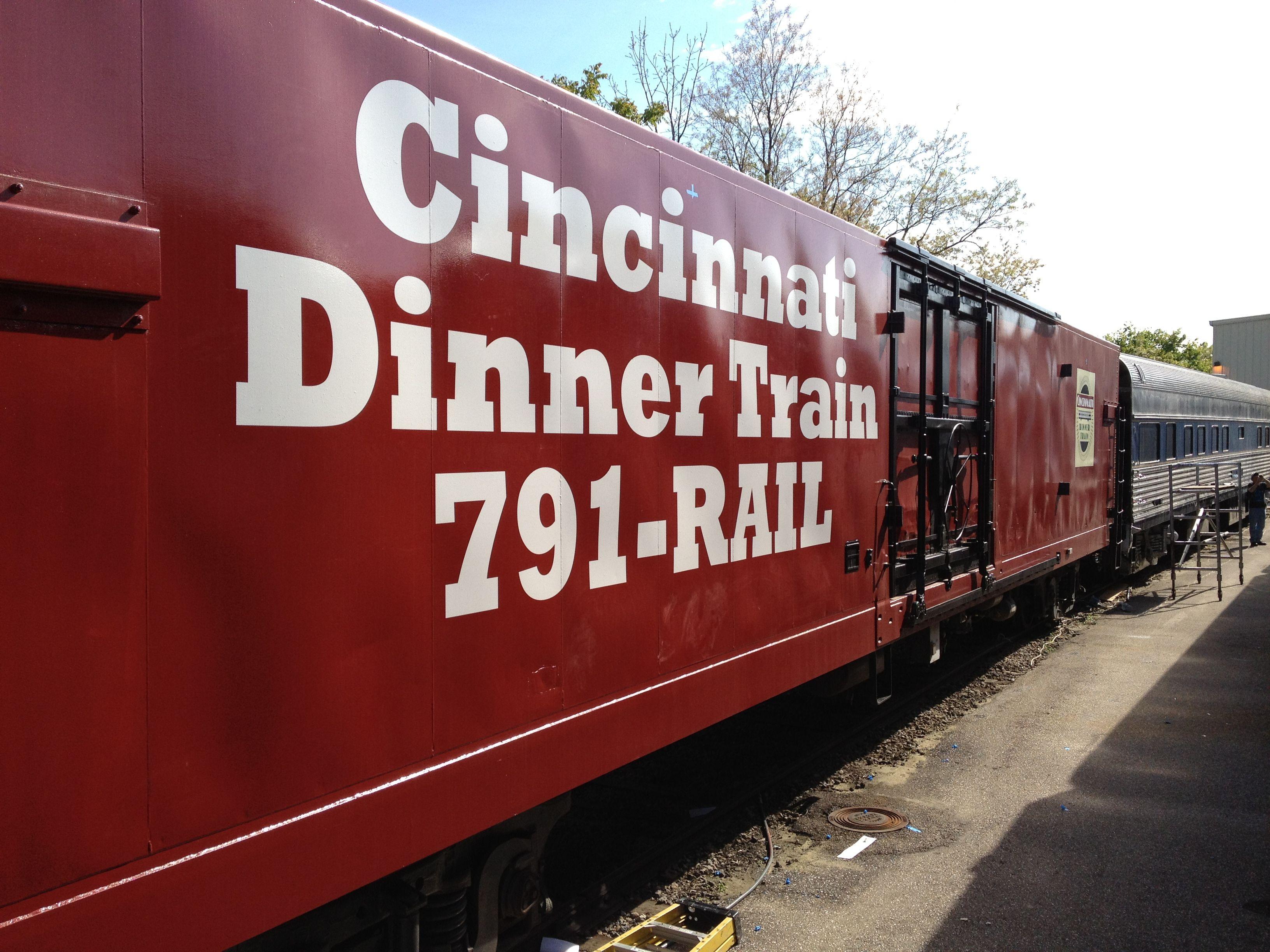 Cincinnati Dinner Train Power Car Cincinnati Dinner Train To Reserve Your Tickets Contact Us Via Email At Cdt Cincinnatira Dinner Train Train Cincinnati
