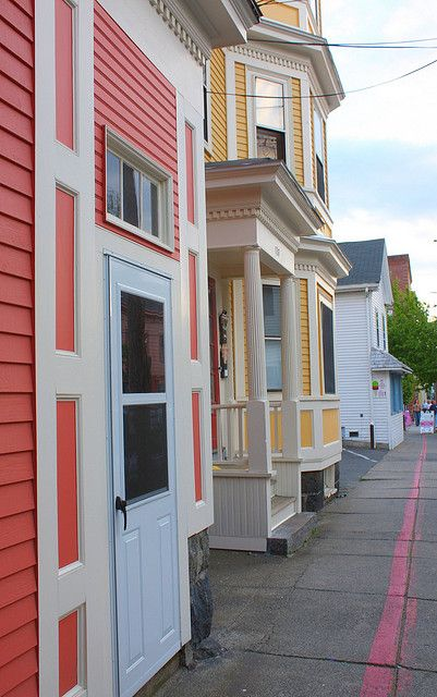 Colorful Homes in Salem Ma | Flickr - Photo Sharing!