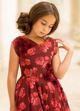 9676d18313e44 Joyfolie Juliette Dress in Berry   Stylish Clothing for Girls ...