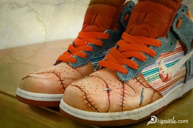more photos 3411c 73354 Custom Sneakers, Custom Shoes, Custom Clothes, Sneakers Nike, Good Guy Doll,