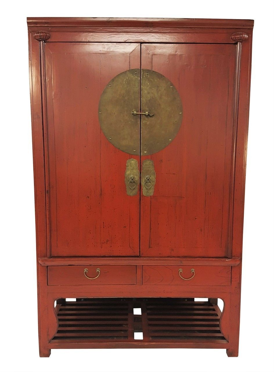 Red Chinese Antique Wedding Chest Red Furniture Wedding Chest Chinese Antiques