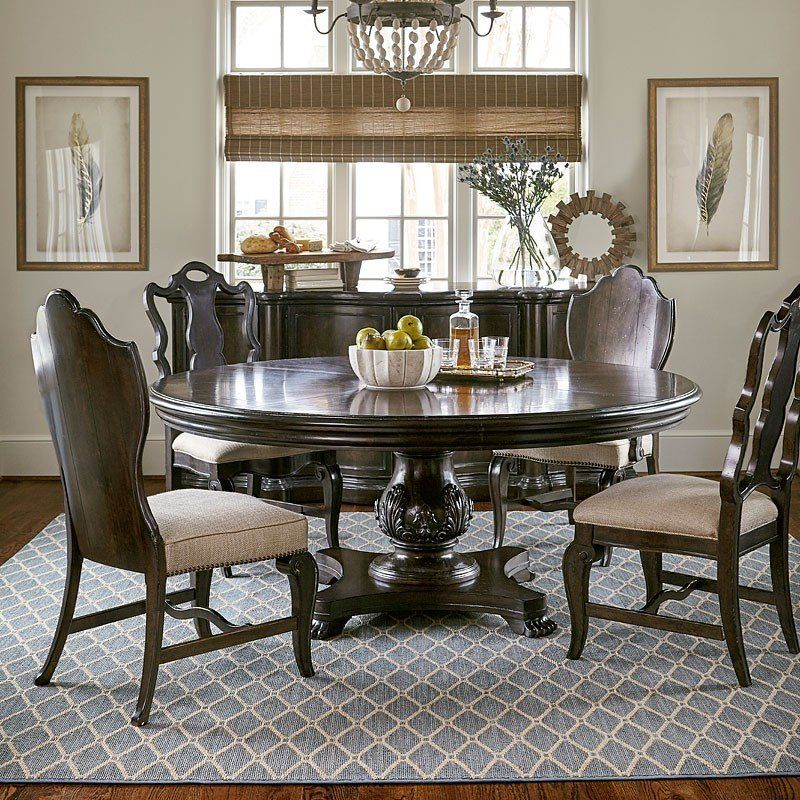 Continental 66 Inch Round Dining Room Set (Melange) ART Furniture |  Furniture Cart