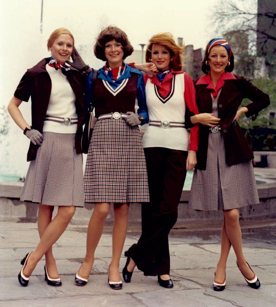 Historical Canadian Events From 1980 2015 Timeline: Mid-70's Air Canada Uniform, Created By Leo Chevalier