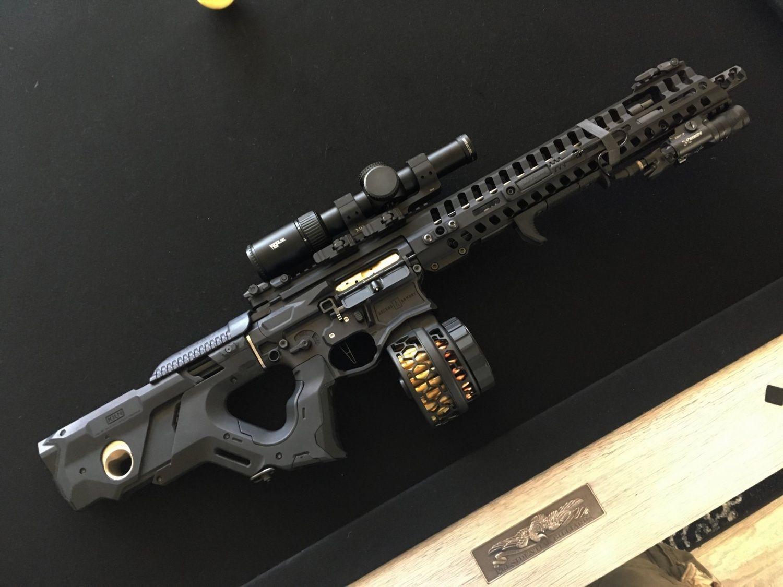 KILN – Vitaly Bulgarov's AR-15 DEX-stock - The Firearm BlogThe Firearm Blog