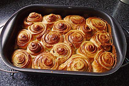 Süße Hefeschnecken (Rezept mit Bild) von Amurei   Chefkoch.de