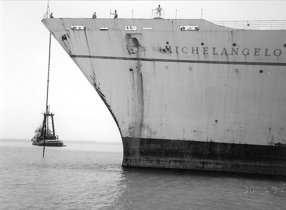 Michelangelo THE ONLY WAY TO CROSS Pinterest Michelangelo - Ms michelangelo cruise ship