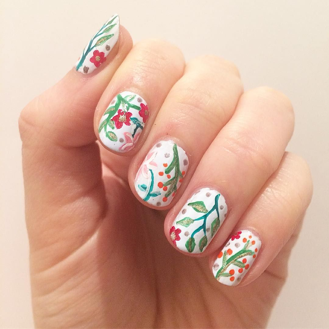 Likes  Comments  Some Relatively Easy Nail Art