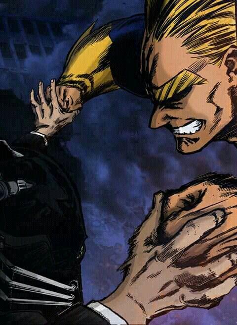 One For All Vs All Might Deku Boku No Hero My Hero Academia