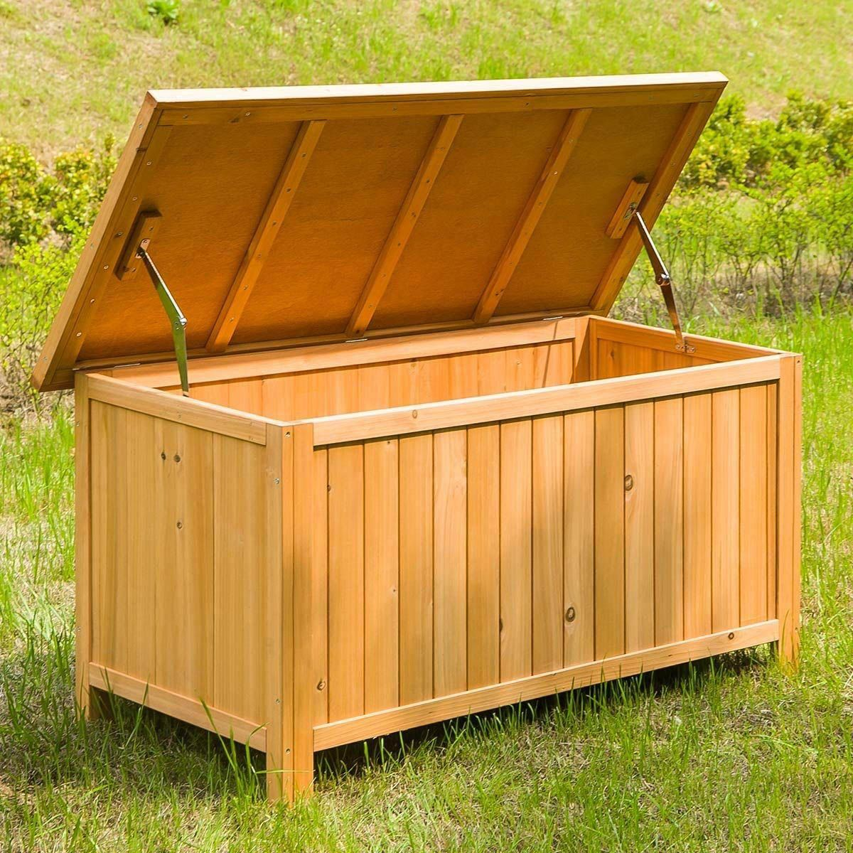 10 charming diy outdoor storage ideas