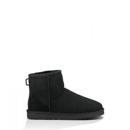 2cfaa6bed034e Mens UGG Classic Mini Black 1002072 Boots