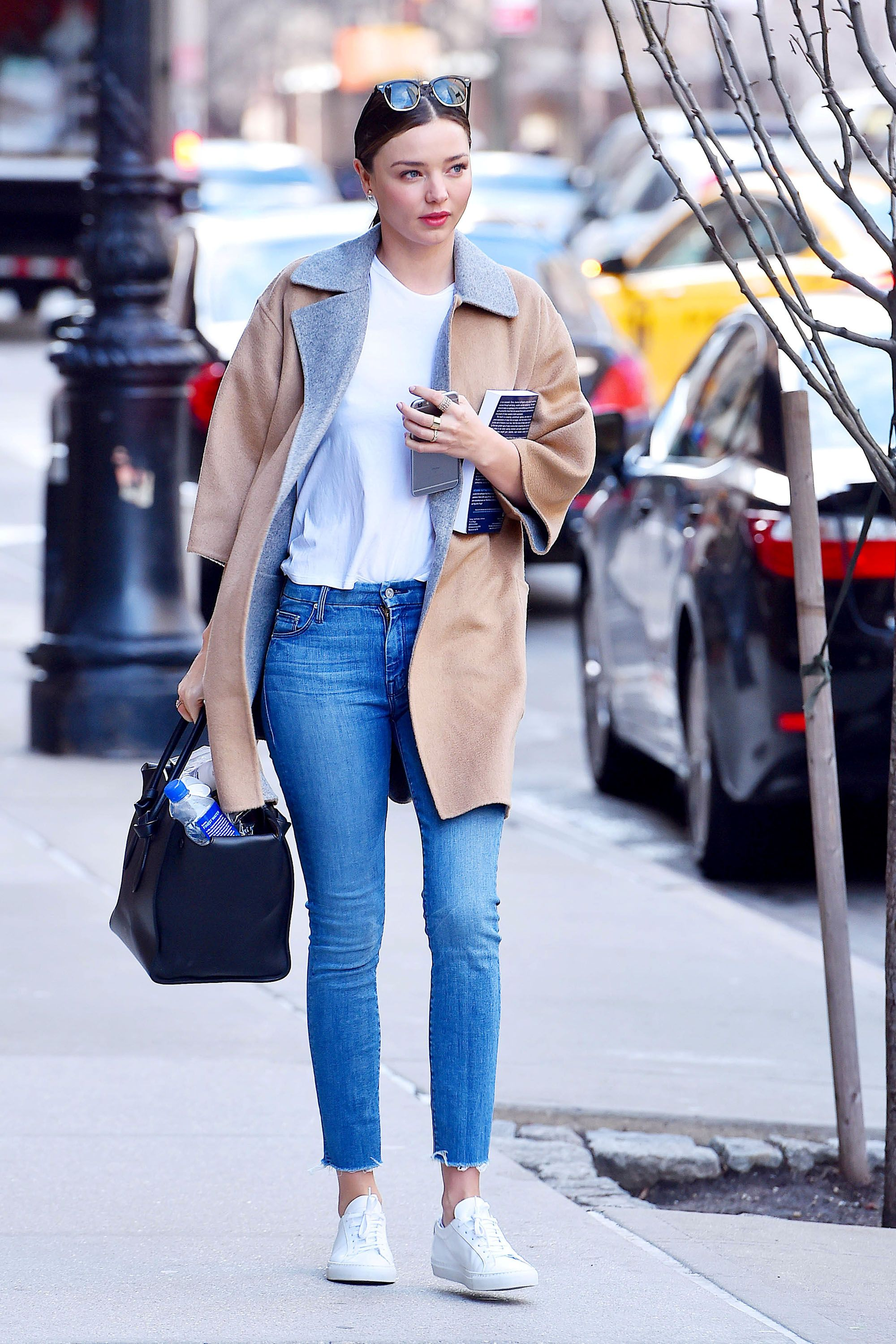 Olivia Culpo Found The Perfect Jeans To Update Your Spring Wardrobe Celebrity Miranda Kerr