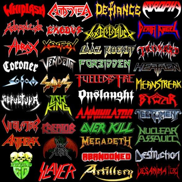 Mean Messiah - Thrash Metal Band Logo Design |Thrash Metal Band Logos