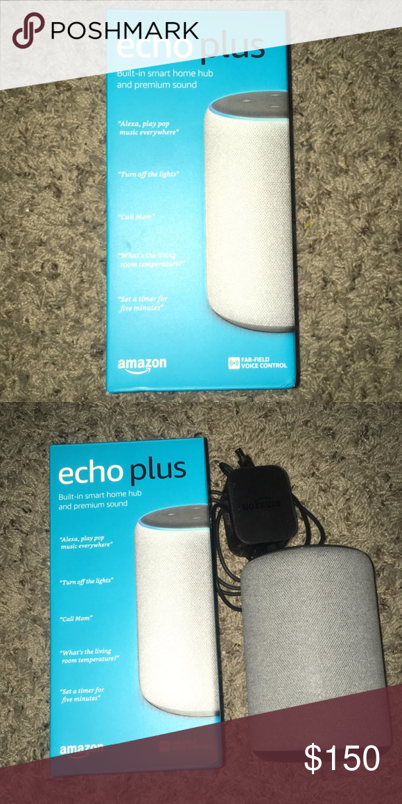 Echo Plus 2nd Generation Brand New Grey Only Been Played Once With