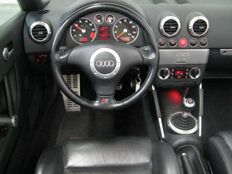 2001 Audi Tt 180 Roadster Interior