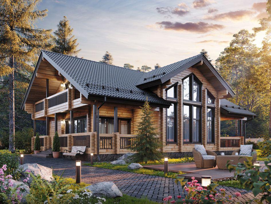 Дома в финском стиле проекты фото