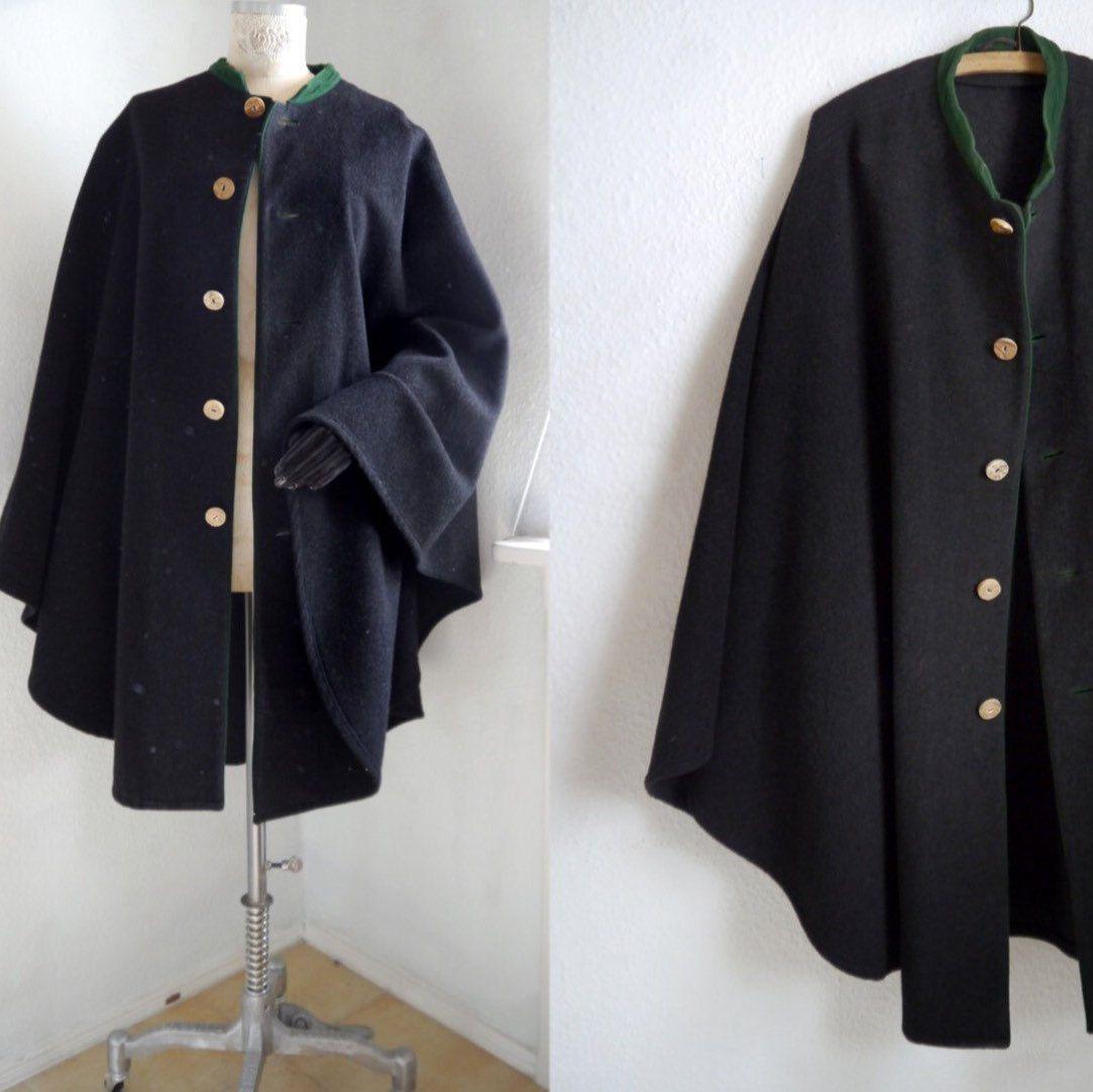 b8afec6f00cce Original Austrian Loden cape. Stylish quality vintage inspired ...