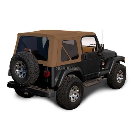 Keep Your Jeep Looking Its Best With A New Sailcloth Convertible Soft Top With Tinted Windows And A 3 Year Factory W In 2020 Jeep Wrangler Jeep Wrangler Tj Wrangler Tj