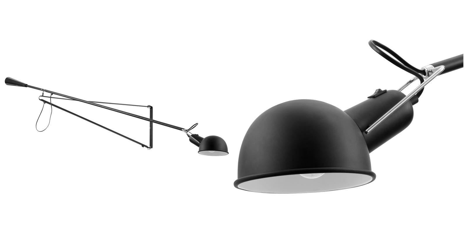 265 Wall Lamp Black Metal Black Iluminacion Artificial Iluminacion Lamparas