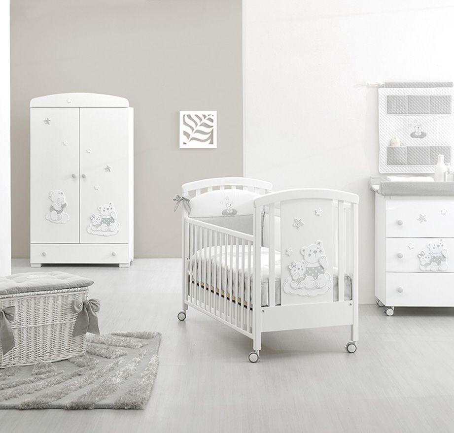 Kinderzimmer Inspiration Mit Erbesi Serie Nuvola In White