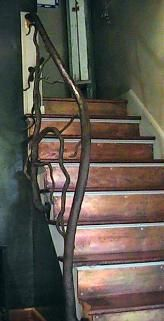 Best Copper Stair Treads And Iron Banister Landscape In 2019 640 x 480