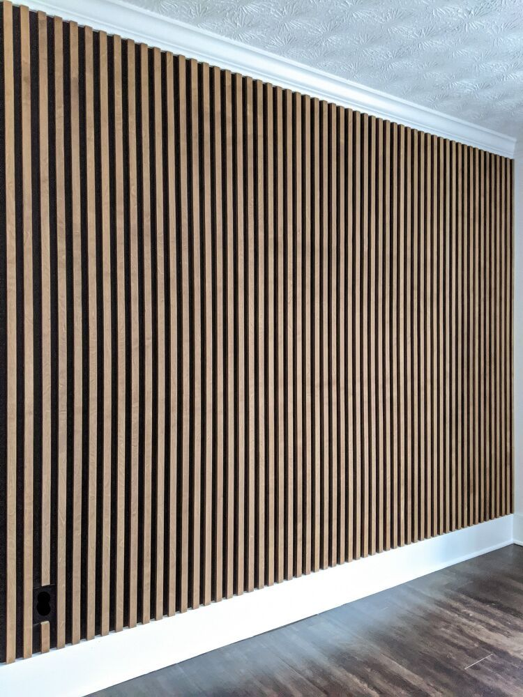 How to Make an Affordable Slat Wall