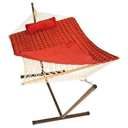 cotton rope hammock stand pad and pillow  bination cotton rope hammock stand pad and pillow  bination   rope      rh   pinterest