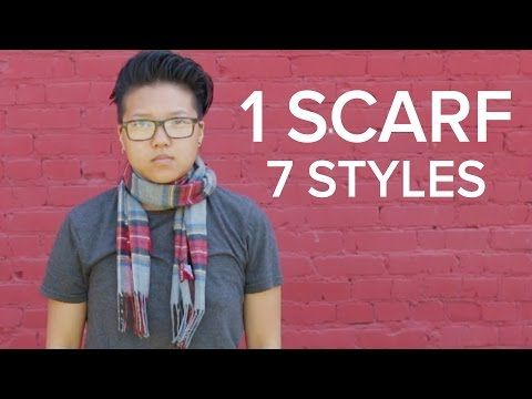 One Scarf, 7 Styles - YouTube