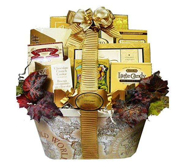 Elegant Gift Basket Old Style World Charm Gourmet For Any Occasion Mothers Day Ebay